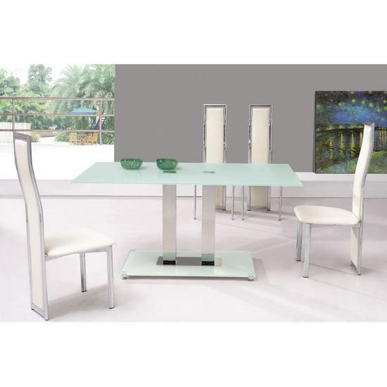 5pc Dining Table Chairs amp Bench Set Cappuccino Finish