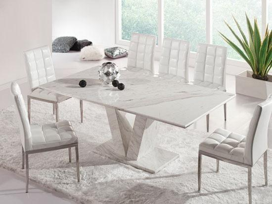 Wonderful White Marble Dining Table and Chairs 550 x 412 · 33 kB · jpeg