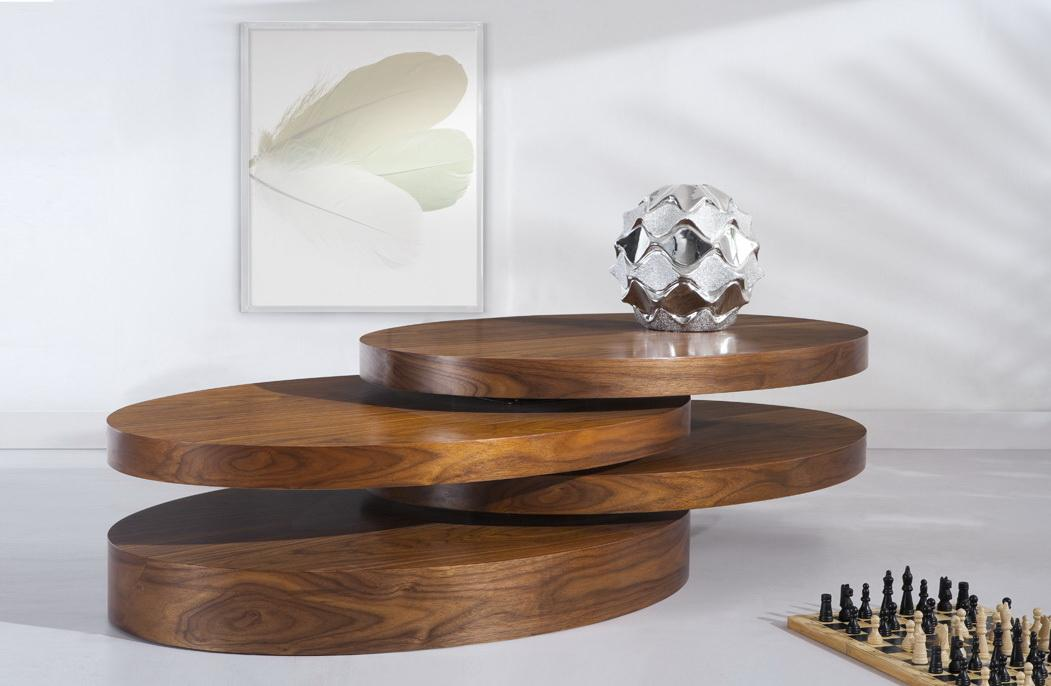'ECLIPSE' ROTATABLE CONTEMPORARY COFFEE TABLE - Images ...