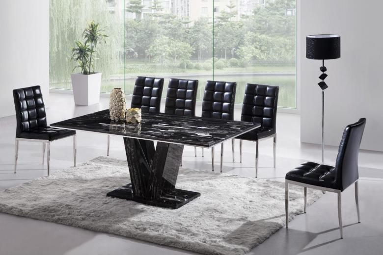 marble dining room table. dining room table breakfast nook table Dining tables & Black Marble Dining Table \u2013 thejots.net
