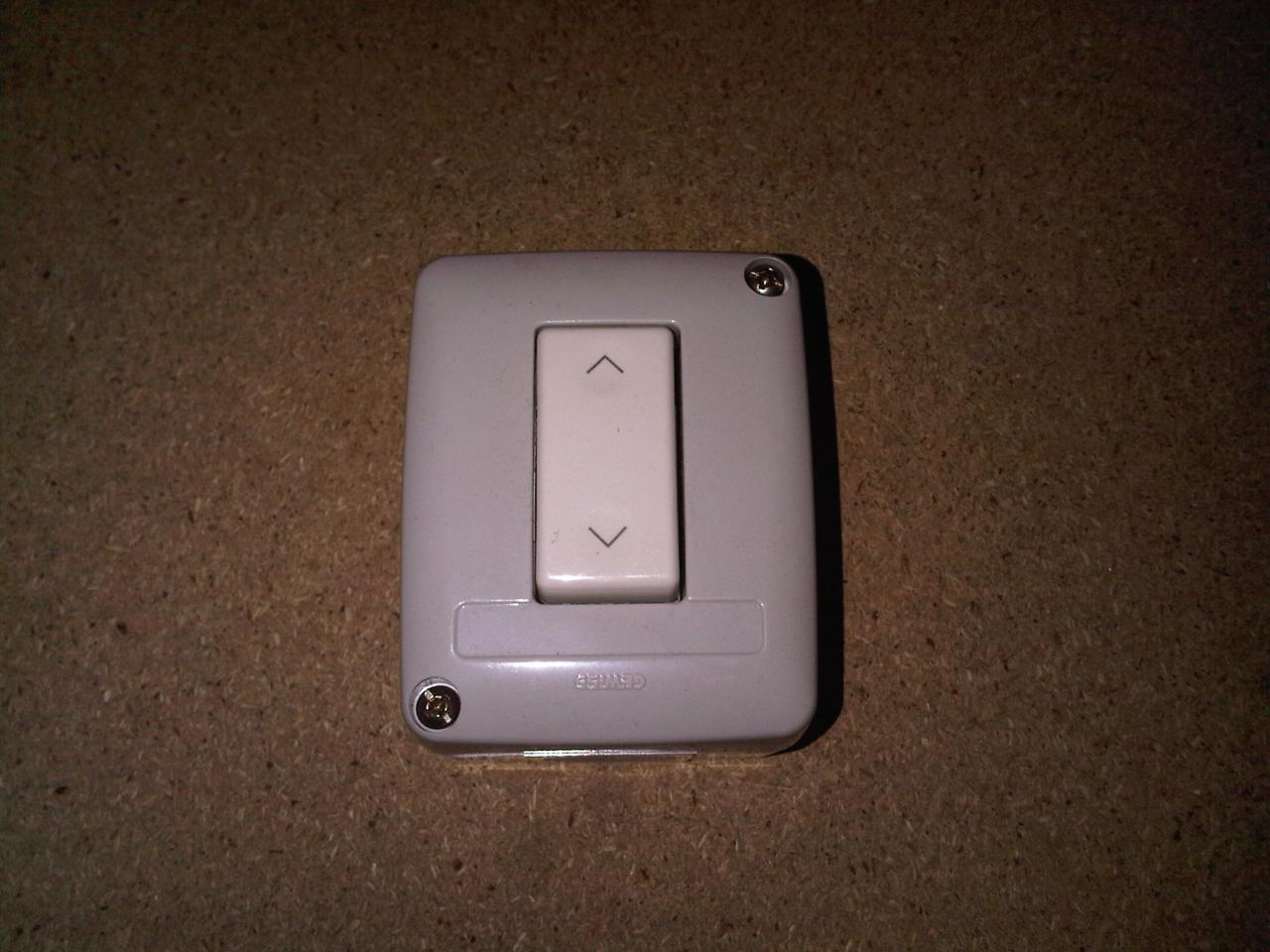 Roller garage door shutter rocker switch ebay
