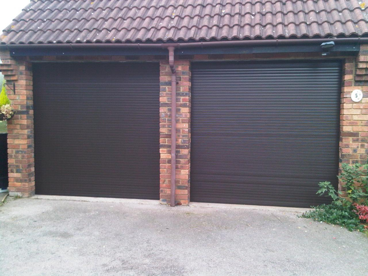 Garage Door Made To Measure Up To 2440mm X 2135mm Roller Type Ebay
