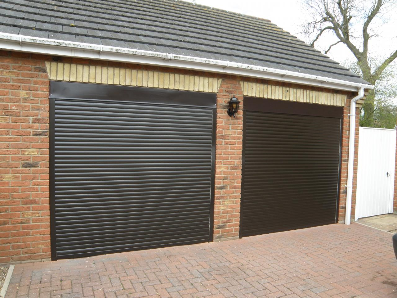Electric Remote Control Roller Shutter Garage Door Made To
