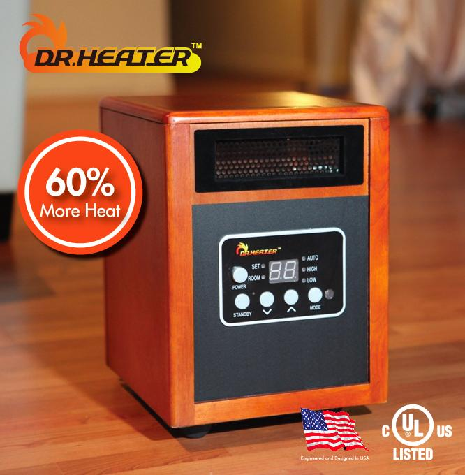 Best dr infrared heater quartz space heater ul listed Dr infrared heater