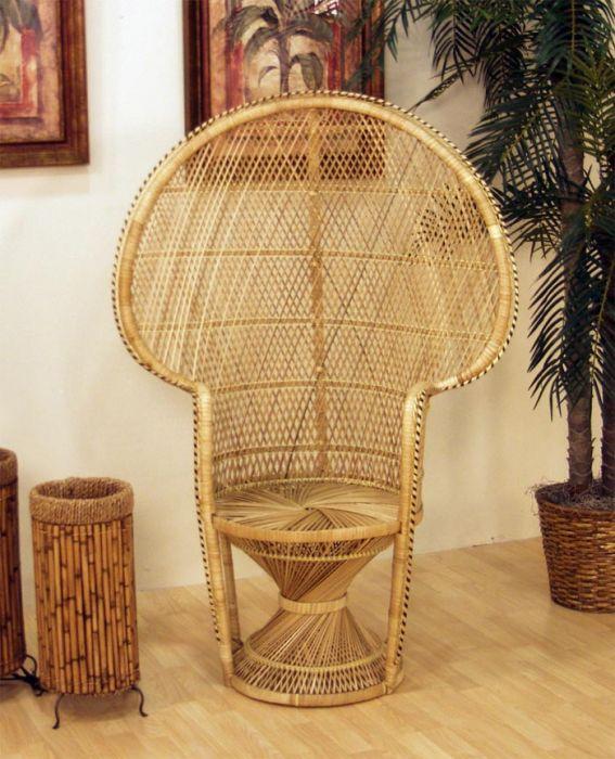 Bamboo Chair Rate: BURI PEACOCK CHAIR SWEET 15
